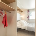 Exemple chambre lit double - Camping Palmyre Loisirs*