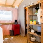 Kitchennette Tente Sahari - Camping Palmyre Loisirs*