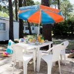 Extérieur Terrasse Small Family - Camping Palmyre Loisirs* - Camping La Palmyre